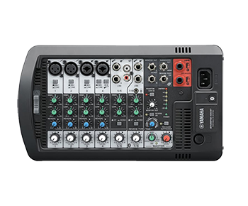 stage pass 400 mixer side