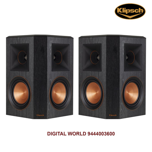 Klipsch RP-402S surround sound speakers