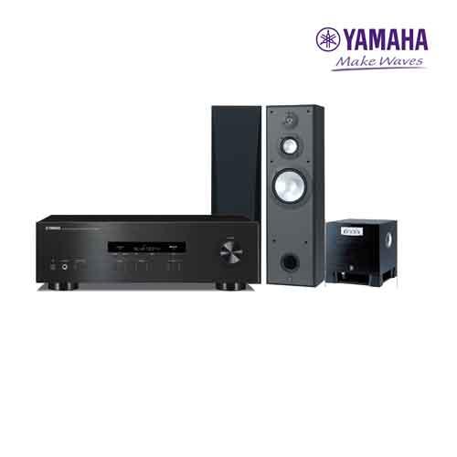 yamaha r-s202+NS-8390