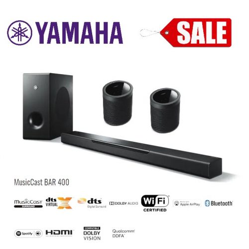 Yamaha Yas-408 wireless 5.1 package