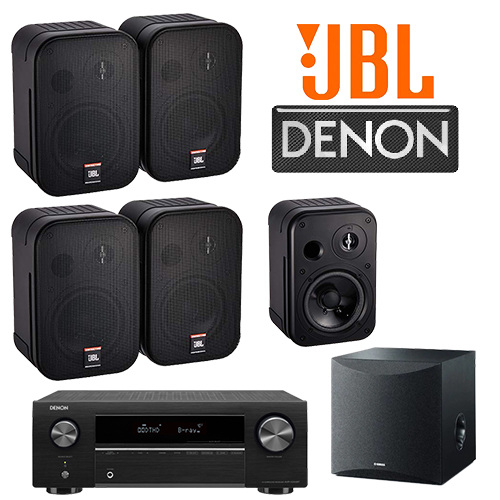 Denon+jbl package