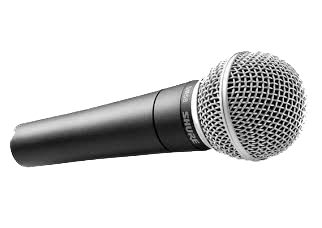 Shure SM58-LC Handheld Dynamic Vocal Microphone